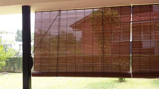 Outdoor Bamboo Blind