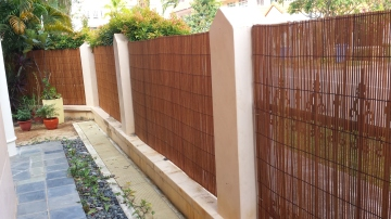 Bamboo Blind Fencing