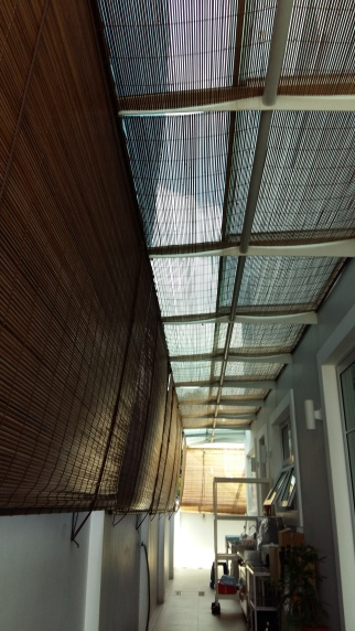 Bamboo For Roof (To Reduce Heat)
