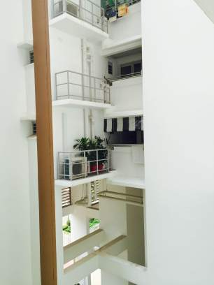 Black And White Blinds at HDB