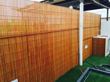 Bamboo Blinds Fencing (Holes cut to size)