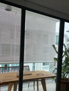 Single Colour Bamboo Blinds